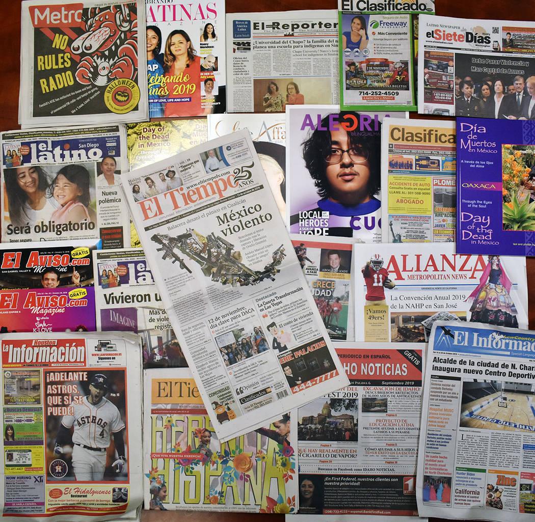 Periódicos en español son clave para hispanos que viven en Estados Unidos. Lunes 28 de octubr ...