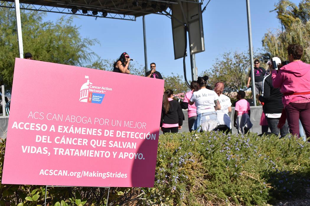 """La """"Caminata Contra el Cáncer de Mama 2019"""" se caracteriza por ser un evento familiar en e ..."""