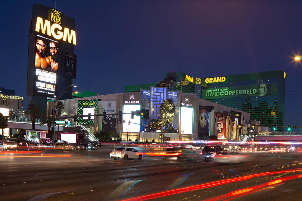 MGM Grand en el Strip de Las Vegas el sábado, 15 de diciembre de 2018. Richard Brian Las Vegas ...