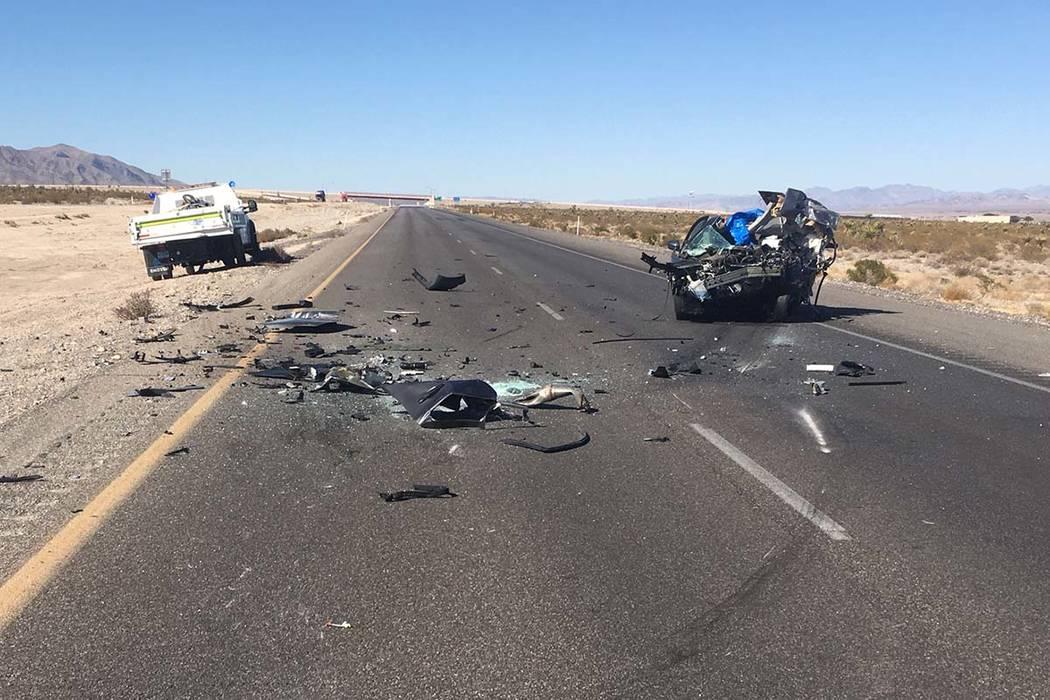 Una persona murió el martes, 29 de octubre de 2019 en un accidente en la autopista US 95 al no ...