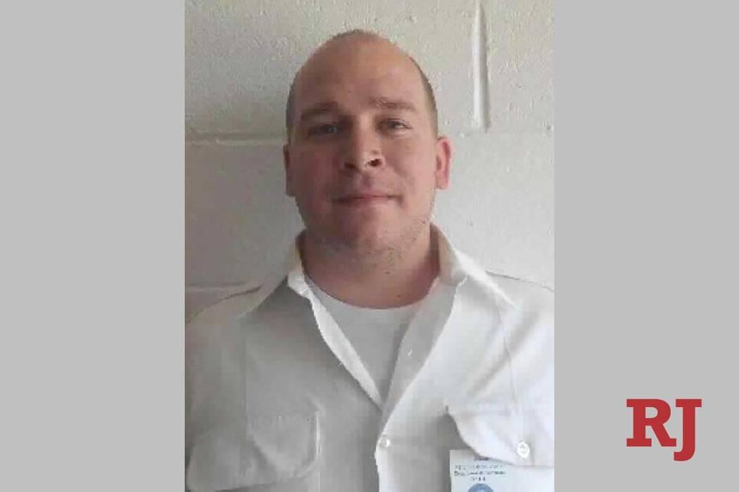 Nathanial Poulopoulos (Departamento de Correcciones de Nevada).