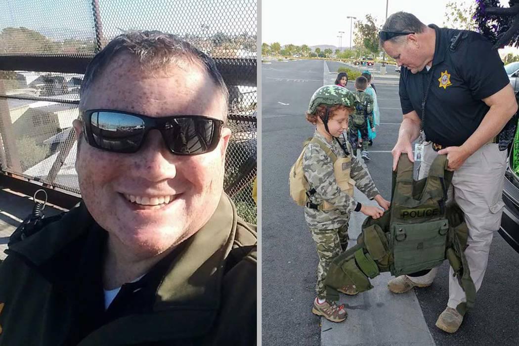 El sargento Dan Newberry, de 42 años, del Departamento de Policía Metropolitana de Las Vegas ...