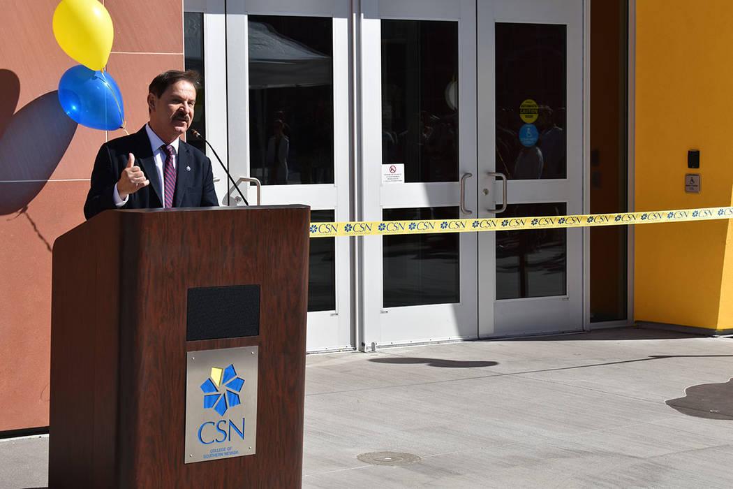 Federico Zaragoza, director del Colegio del Sur de Nevada (CSN) es oriundo de la Ciudad de Méx ...