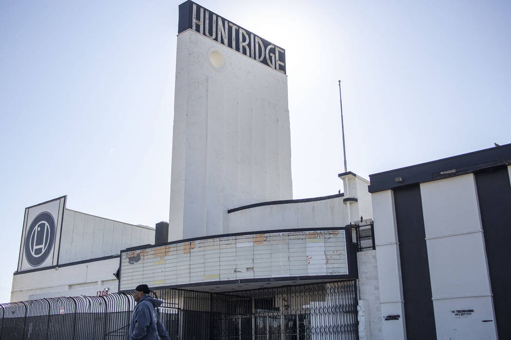 El histórico Teatro Huntridge de Las Vegas puede que ya haya encontrado un comprador. (Elizabe ...