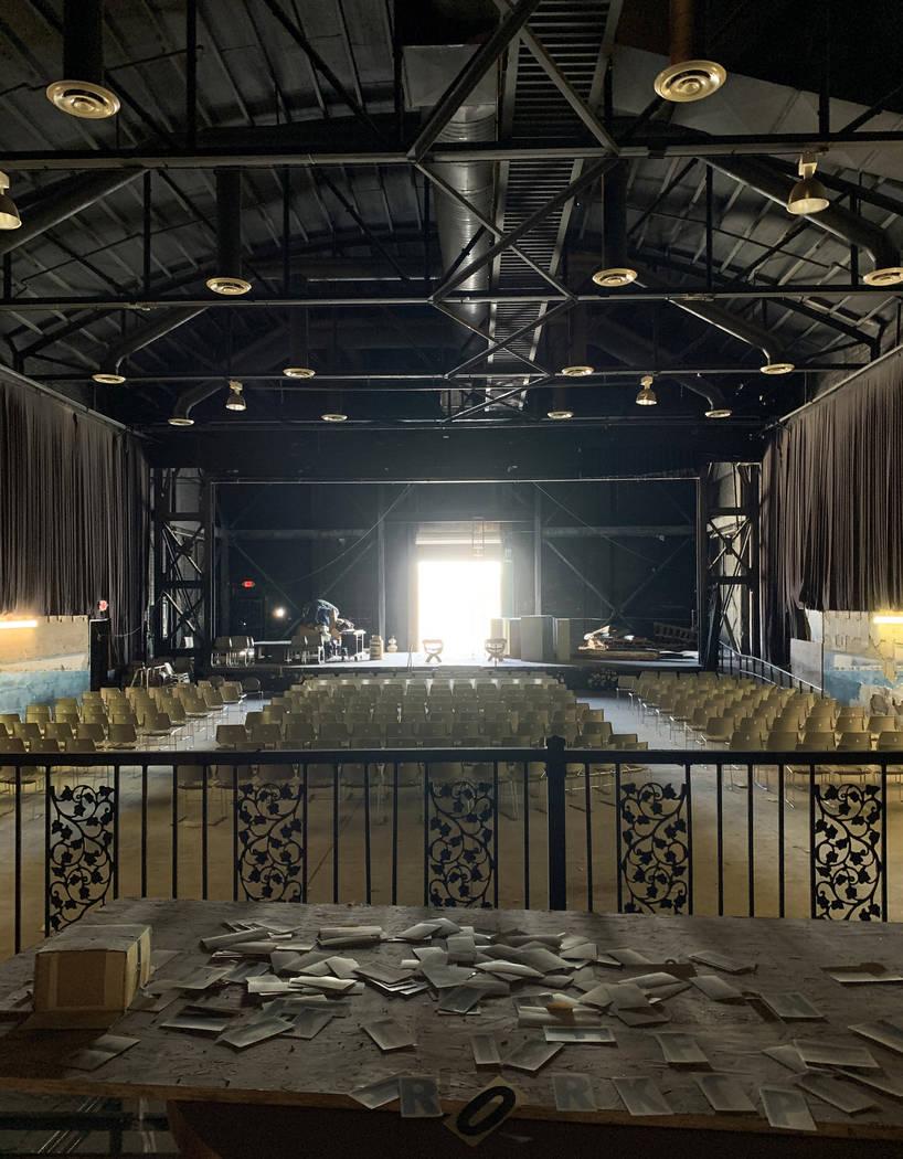 Una vista del histórico Teatro Huntridge fotografiado el jueves, 31 de octubre de 2019 en Las ...