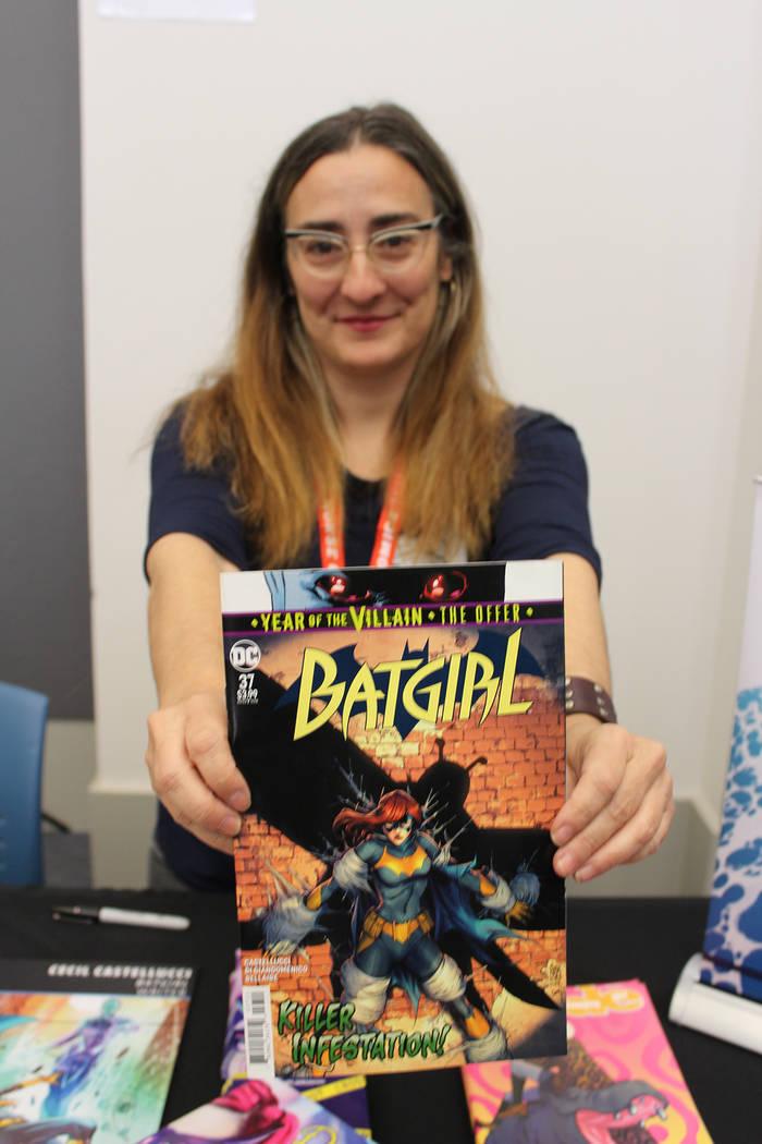 Cecil Castellucci, es la encargada de las aventuras de Batichica para DC Comics. Sábado 2 de n ...