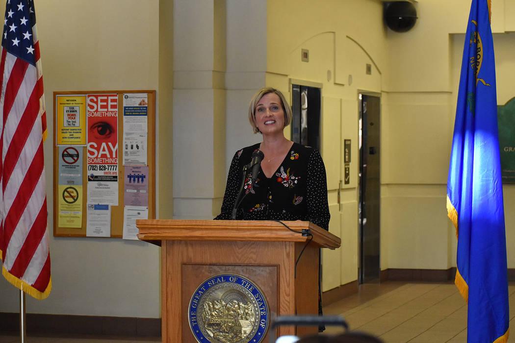 Heather Korbulic, es directora ejecutiva de Silver State Health Insurance Exchange. La inscripc ...