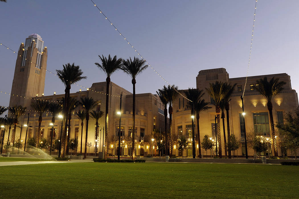 The Smith Center for The Performing Arts (Las Vegas Review-Journal/Archivo).