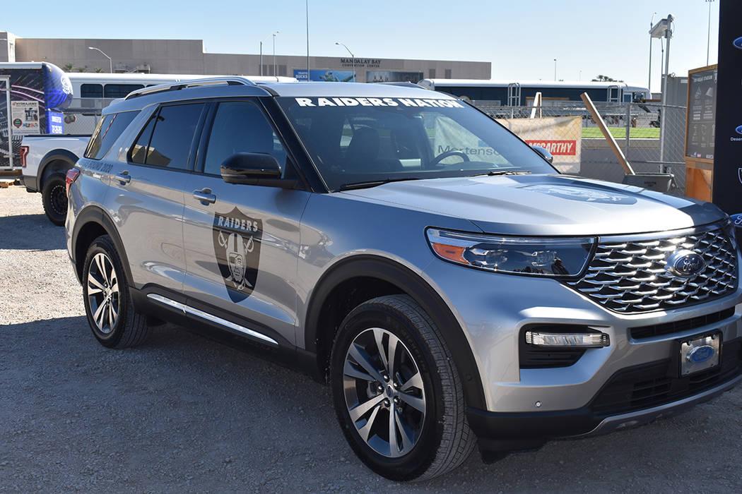Ford será el transporte oficial de los Raiders de Las Vegas. Miércoles 6 de noviembre de 2019 ...