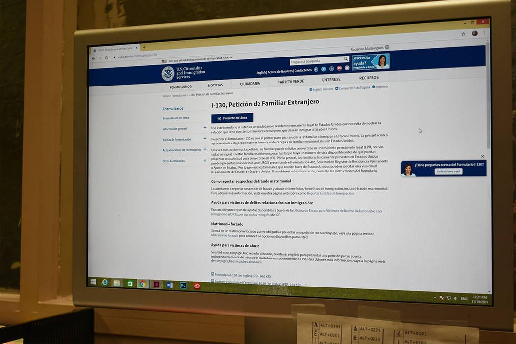 Los ciudadanos o residentes permanentes ahora pueden completar y presentar el Formulario I-130 ...