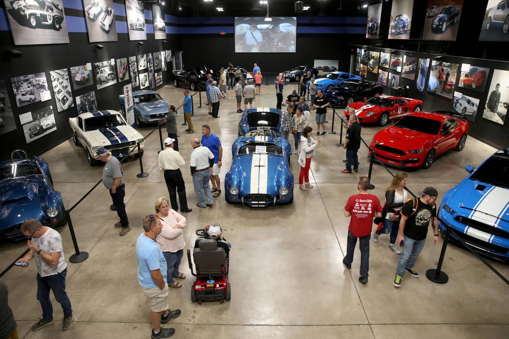 El Shelby Heritage Center en Las Vegas el jueves, 31 de octubre de 2019. La leyenda del automov ...