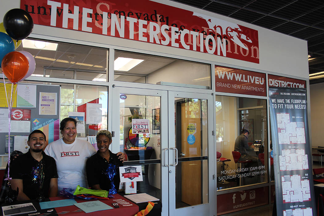 Son 4 años de existencia del centro The Intersection en UNLV. Viernes 8 de noviembre de 2019 e ...