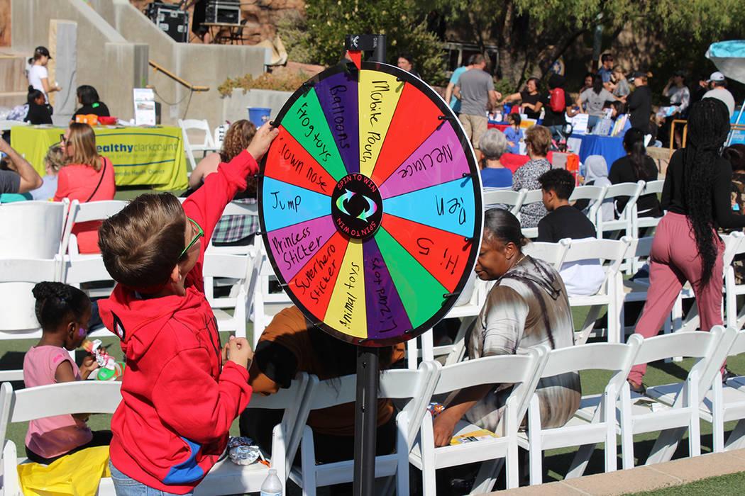 Fueron 38 agencias dedicadas al bienestar infantil que participaron en el evento. Sábado 9 de ...