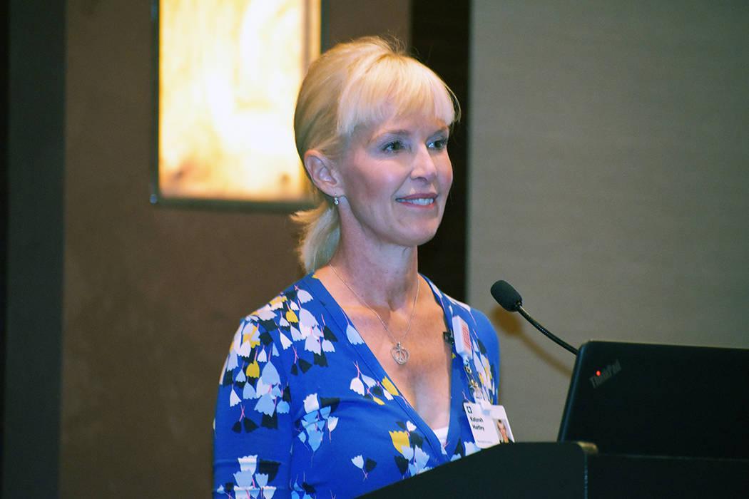 """Katurah Hartley dictó un seminario sobre """"Envejecimiento saludable y su cerebro"""", ella lab ..."""