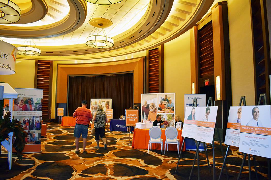 """La sexta """"Expo AgeWell"""" es un evento bianual que promueve la actividad en personas mayores ..."""