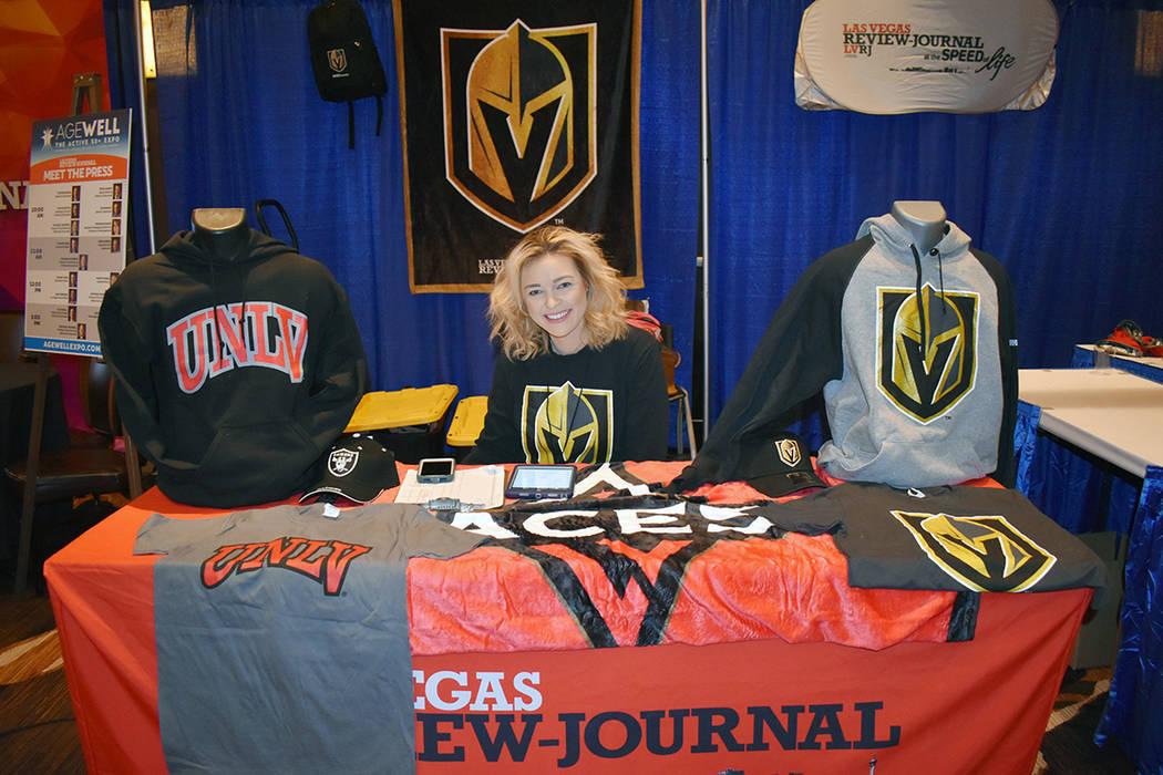 Los Golden Knights estuvieron bien representados en la sexta Expo AgeWell. Sábado 9 de noviemb ...