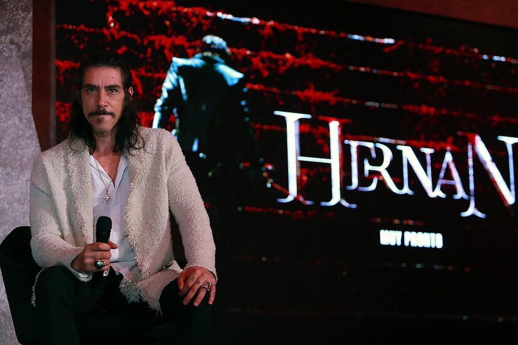 Ciudad de México, 13 Nov. 2019 (Notimex-Francisco Estrada).- El actor Óscar Jaenada, protagon ...