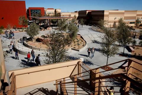 West Career & Technical Academy abrió sus puertas en 2010. (Foto de archivo del Las Vegas Revi ...