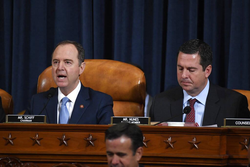 El presidente del Comité de Inteligencia de la Cámara de Representantes, Adam Schiff (demócr ...