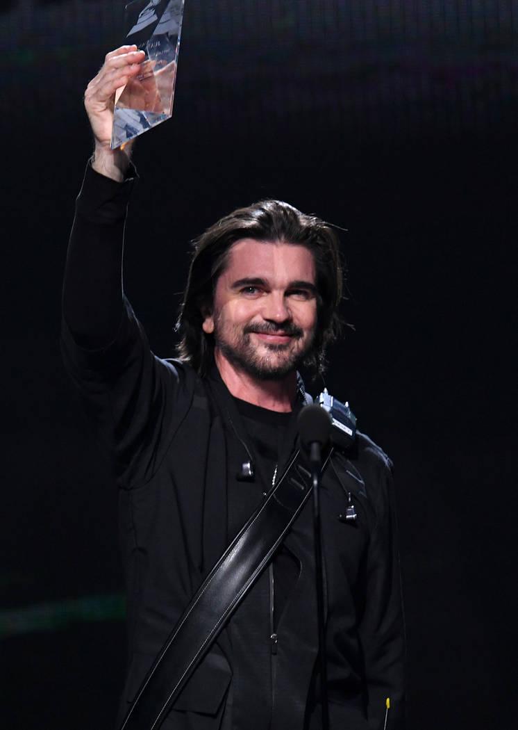 """Juanes recibió el reconocimiento de """"Persona del año"""". Jueves 14 de noviembre de 2019 en ..."""