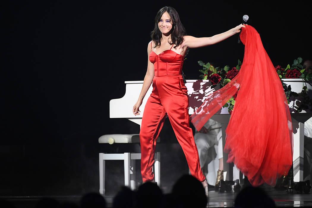 Ximena Sariñana ofreció su talento sobre el escenario. Jueves 14 de noviembre de 2019 en MGM ...