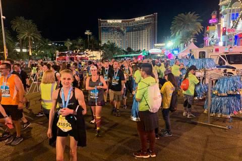 La prueba se llevó a cabo el domingo 17 de noviembre de 2019 en el Strip de Las Vegas, y en op ...
