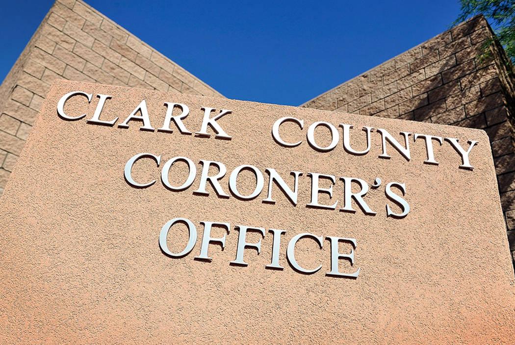 Oficina Forense del Condado de Clark. (Las Vegas Review-Journal)