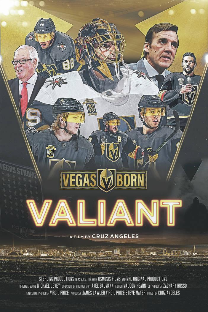 """Poster oficial del documental """"Valiant"""". Foto Cortesía."""
