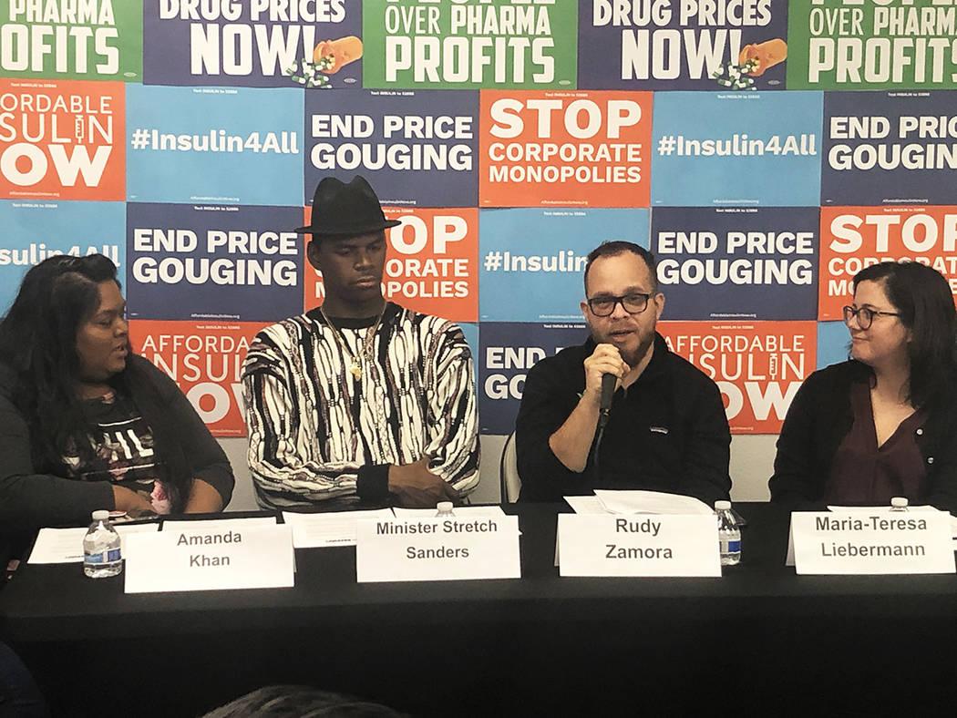 Habitantes de Nevada piden al Congreso negociar con la industria farmacéutica para reducir pre ...