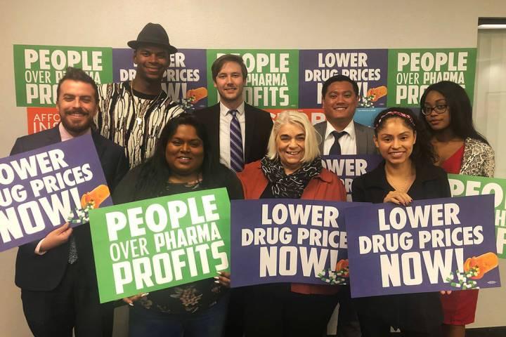 Activistas locales realizaron una mesa redonda para abordar la crisis de insulina asequible en ...