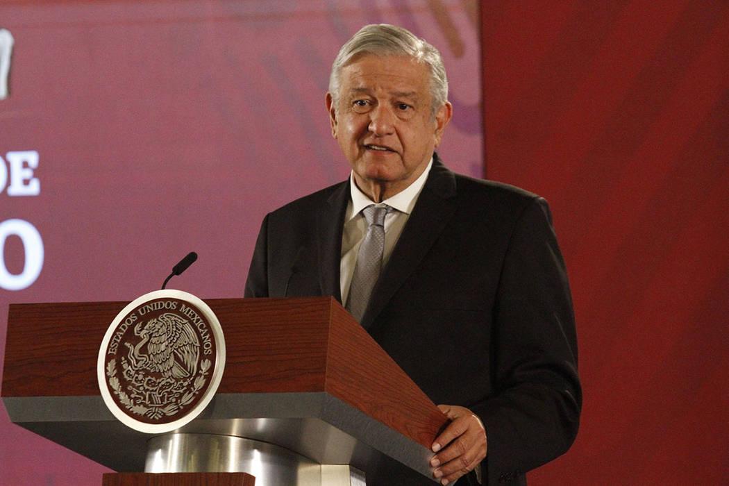 ARCHIVO. Ciudad de México, 26 Nov 2019 (Notimex-Romina Solis).- El presidente Andrés Manuel ...