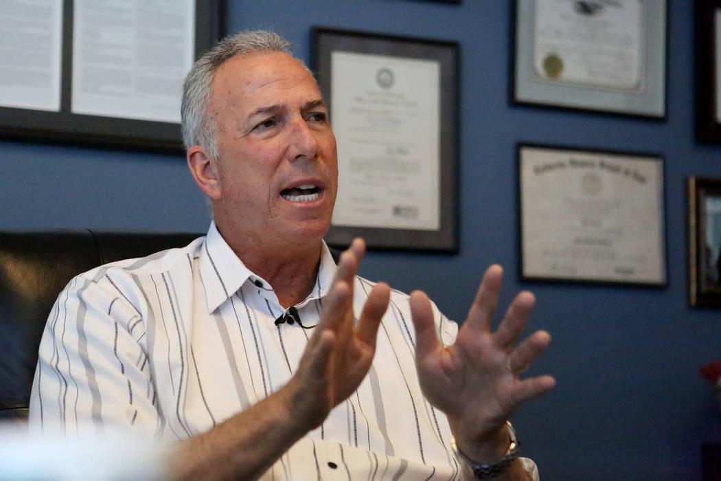 Steve Wolfson, Fiscal de Distrito del Condado de Clark. (Michael Quine/Las Vegas Review-Journal)