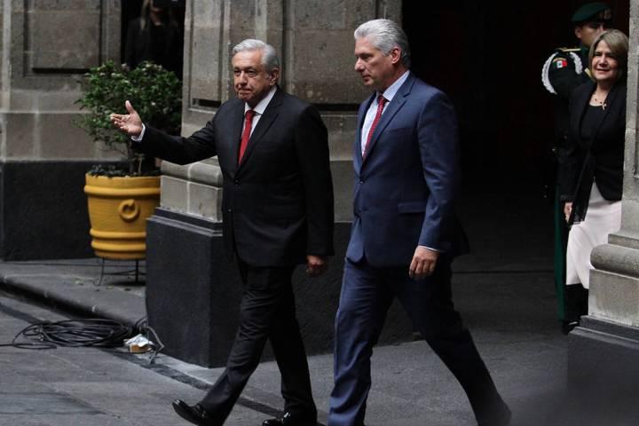 ARCHIVO. Ciudad de México, 17 Oct 2019 (Notimex-Guillermo Granados).- El presidente Andrés Ma ...