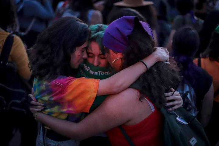 ARCHIVO. México, 29 Nov 2019 (Notimex-Quetzalli Blanco).- Unas dos mil mujeres se manifestaron ...