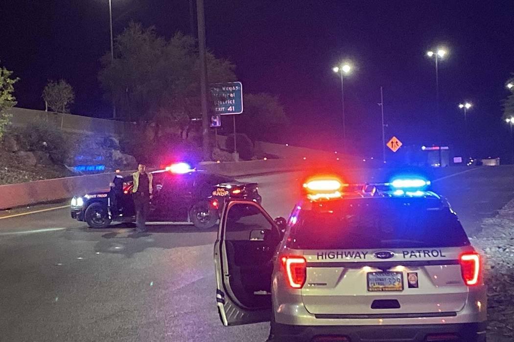 La Patrulla de Carreteras de Nevada está investigando después de que un conductor en sentido ...