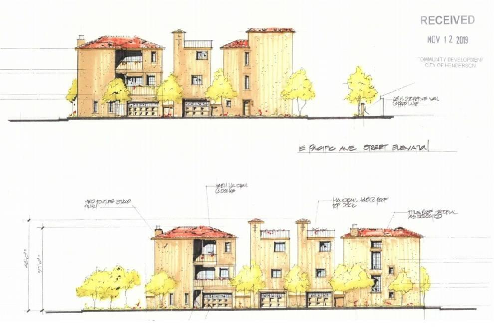 Una representación muestra lo que un hombre del centro de Henderson quiere construir en un bar ...