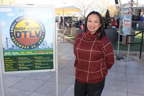 Kristine Reynolds, gerente general de Cointaner Park, dijo que son 30 negocios de marcas locale ...
