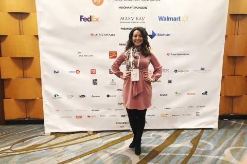 Ericka Aviles fue seleccionada como ganadora del Premio Carolyn M. Sparks Founders por el Nevad ...