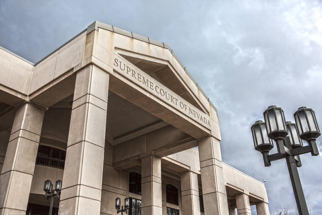 Corte Suprema de Nevada. (Benjamin Hager/Las Vegas Review-Journal)