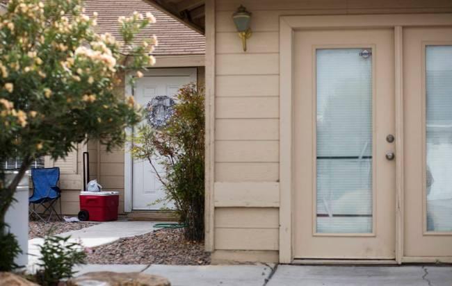 Connie Lewis's former King Futt's PFM rental home in North Las Vegas, Thursday, Nov. 14, 2019. ...