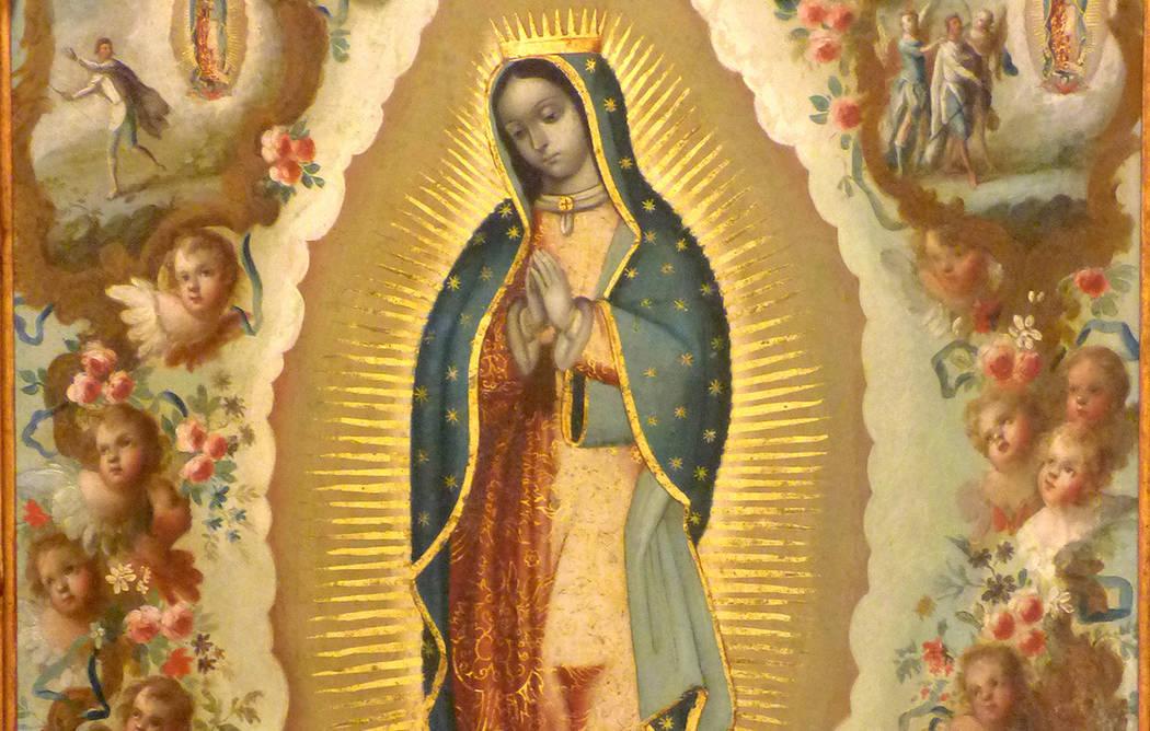 Imagen de la Virgen de Guadalupe. [Cortesía]