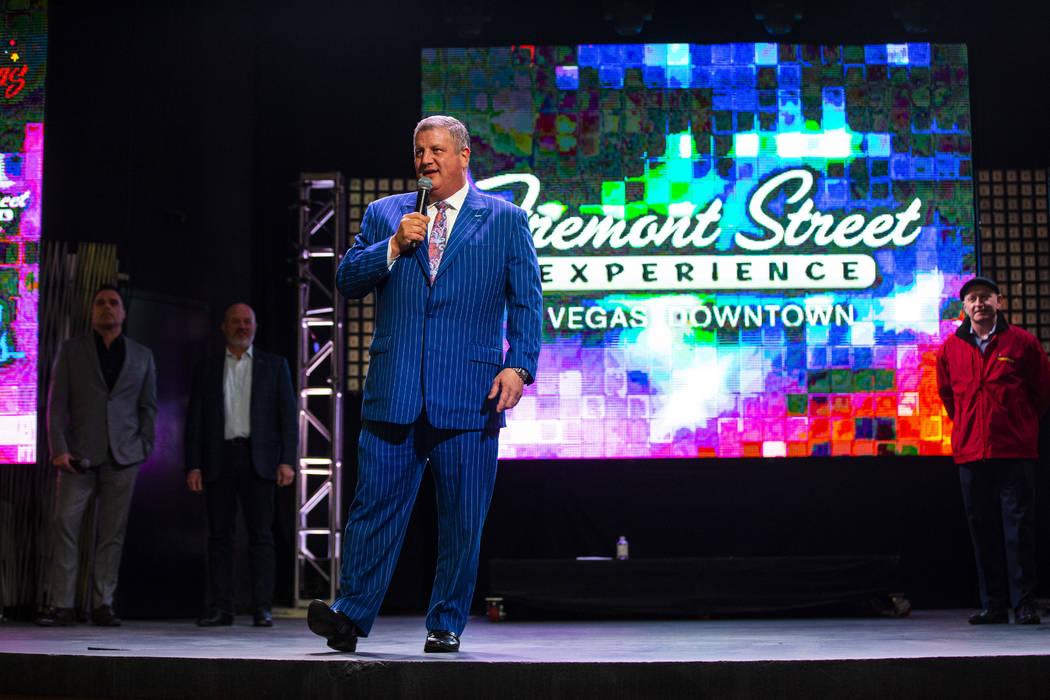Derek Stevens, propietario y director ejecutivo de múltiples propiedades en el centro de la ci ...