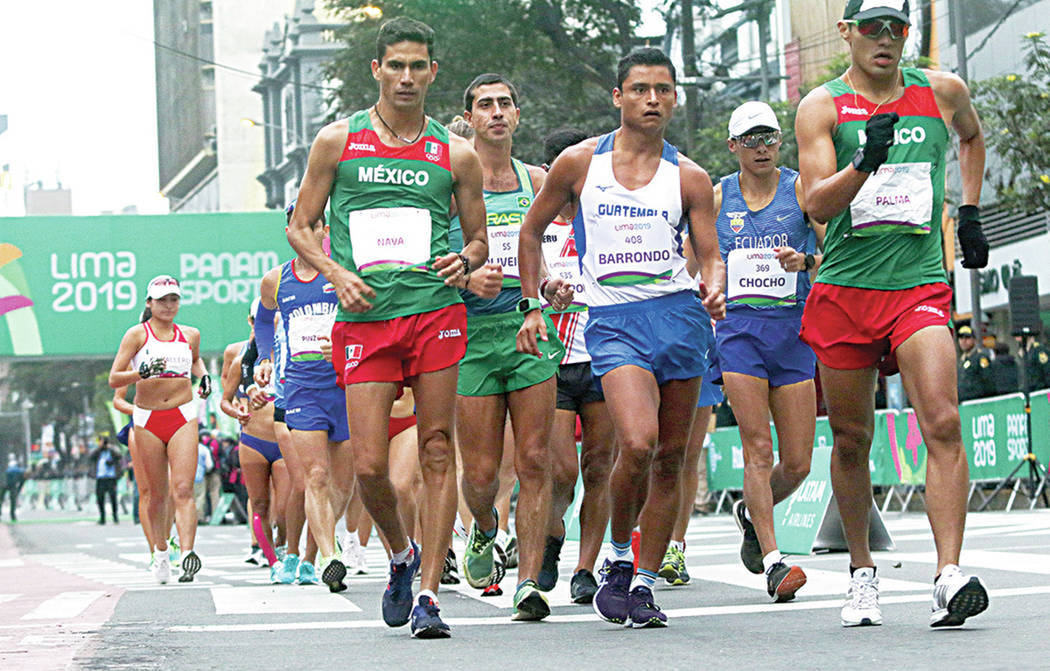 El mexicano Horacio Nava gana medalla de plata en la marcha varonil de 50 Km EN LOS Juegos Pana ...