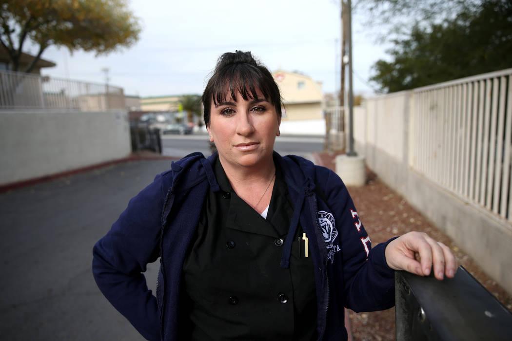 Heather McGonigle, de 37 años, fotografiada en Las Vegas el viernes, 20 de diciembre de 2019, ...