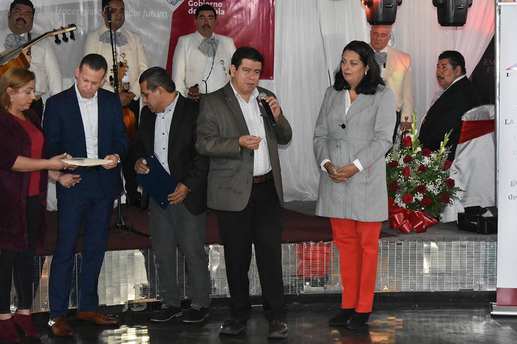 """Funcionarios públicos estuvieron presentes en el evento """"Juntos otra vez"""". Martes 24 de di ..."""