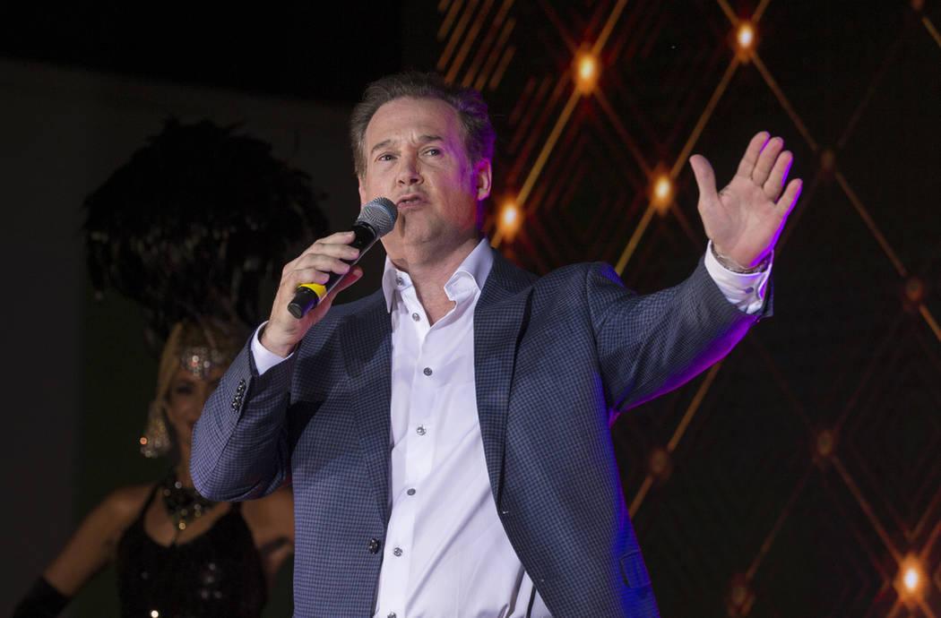 Alex Meruelo, fundador de Meruelo Group y propietario de SLS Las Vegas, habla durante un evento ...