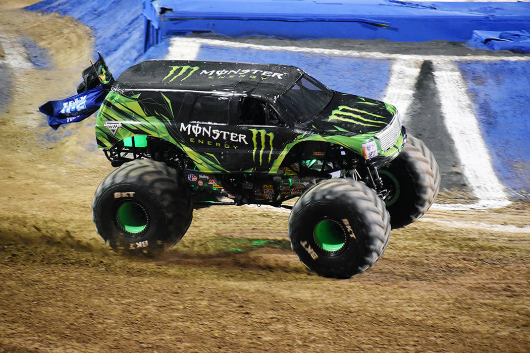 "Monster Energy (Coty Saucier) se adjudicó el primer lugar del ""Monster Jam All-Star Challeng ..."