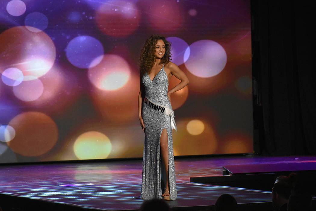 Miss El Tiempo USA Miranda Contreras tuvo una destacada participación al clasificar a la semif ...