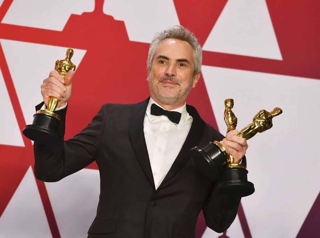 Alfonso Cuarón logró el éxito con la película Roma. Foto AP.