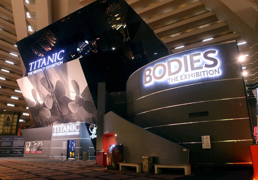 """""""Titanic: The Artifact Exhibition"""" es una de las atracciones educativas más visitadas de L ..."""